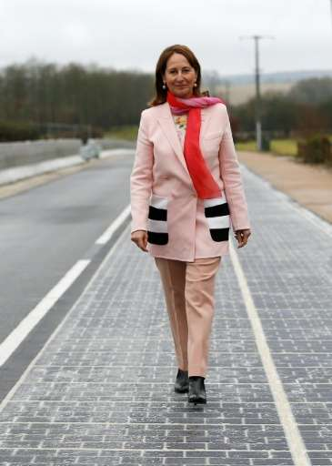 Building firm Colas says that in theory France could become energy independent by paving only a quarter of its million kilometre