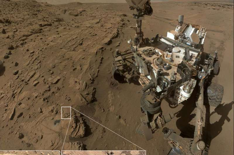 ChemCam findings hint at oxygen-rich past on Mars