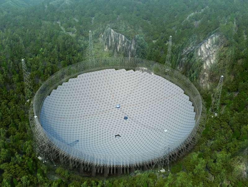 China finishes construction of world's largest radio telescope