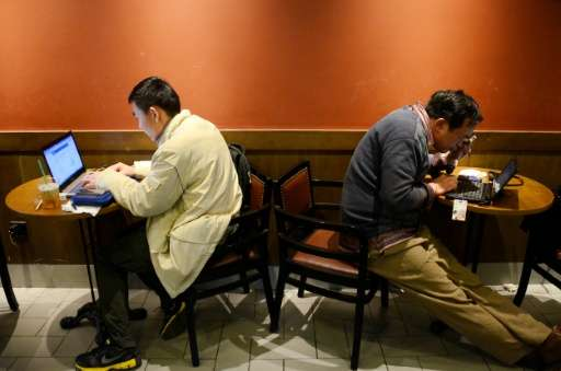 China says it has 710 million internet users—defined as those who have gone online at least once in the past six months—more tha
