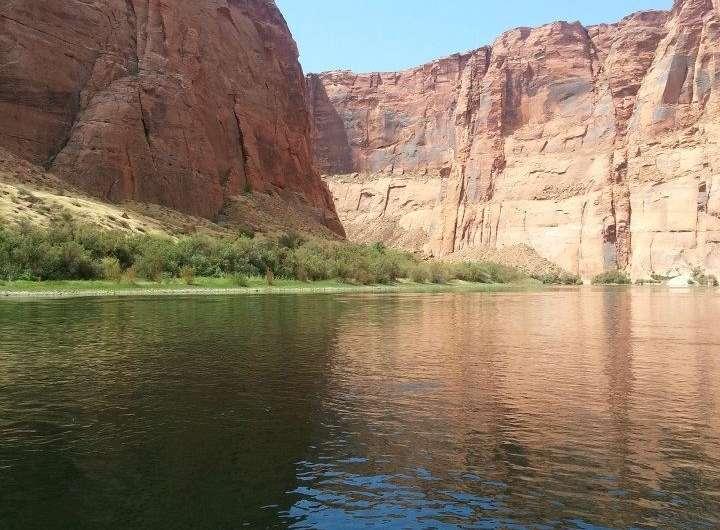 Colorado River flows reduced by warmer spring temperatures