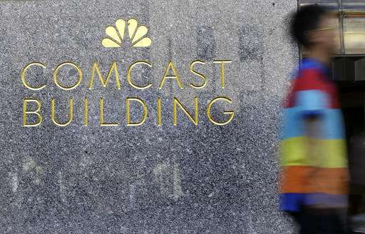 Comcast profit slips due to fewer box-office hits