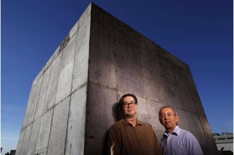 'Conductive concrete' shields electronics from EMP attack