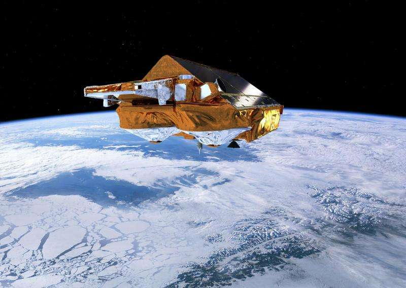 CryoSat reveals recent Greenland ice loss