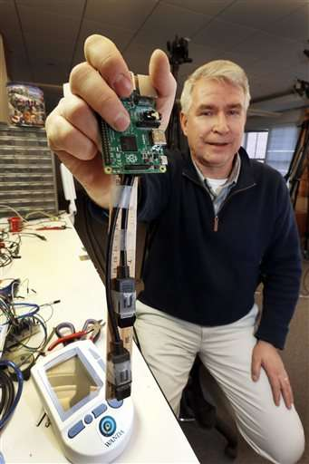 Dartmouth's 'magic wand' pairs medical devices to Wi-Fi