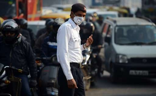 Delhi has been shrouded in a toxic soup as residents gear up for the Hindu festival of lights, Diwali, which is marked by ear-sp