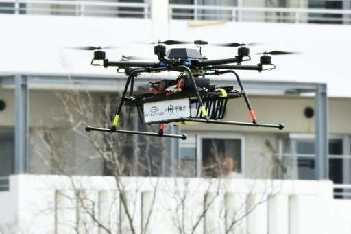 Donuts, a chicken sandwich, and hot coffee were among the items in the first drone delivery on US soil approved by aviation offi