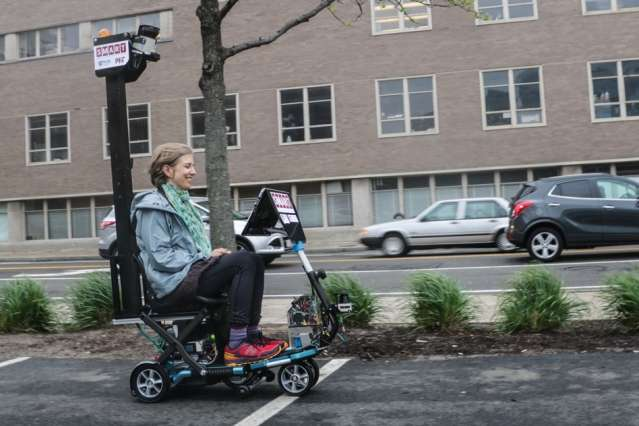 Driverless vehicle options now include scooters