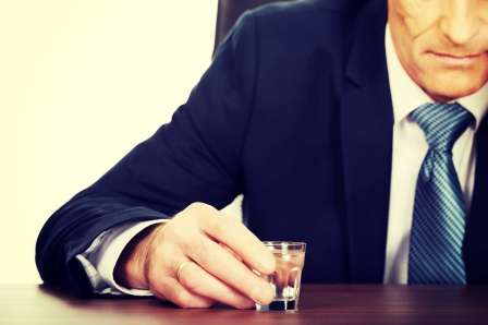 During Great Recession employees drank less on the job, but more afterwards