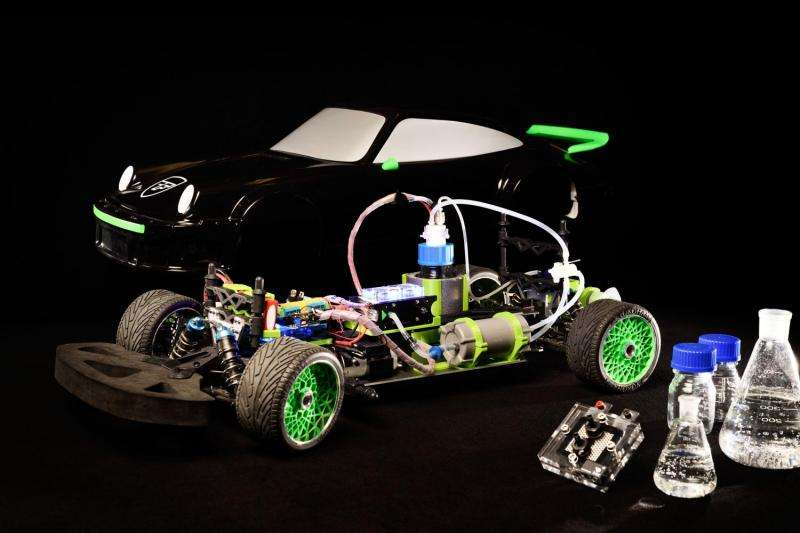 Eindhoven student team to build the world's first car powered by formic acid