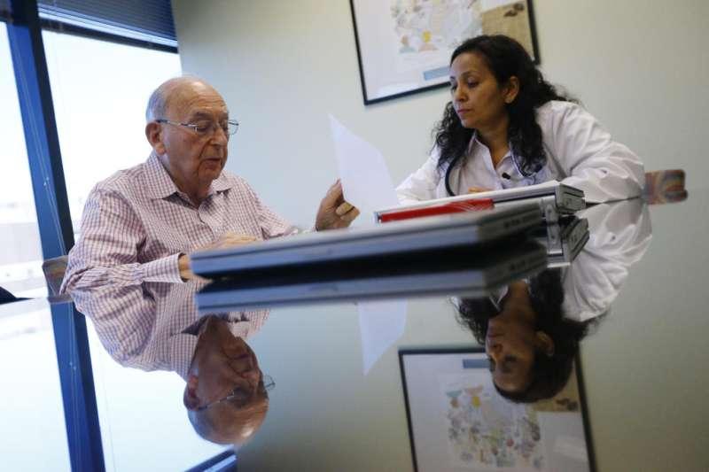 Elderly book end-of-life talks once labeled 'death panels'