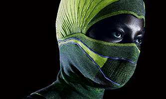 Electric balaclava to avert chest infections in cold weather