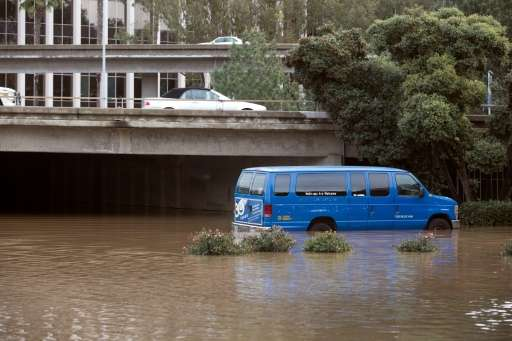 El Nino-driven storms dumped much-needed rain over California, but Julien Emile-Geay, a paleoclimatologist at the University of