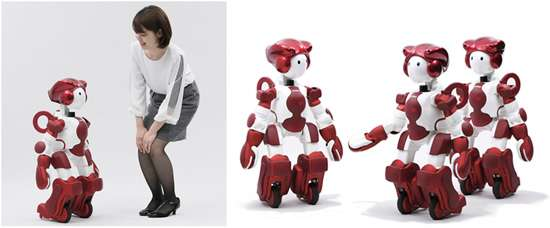 EMIEW3  robot will go on duty in customer service role
