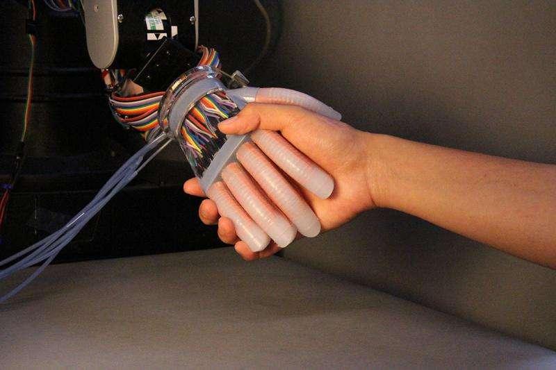 Engineers get under robot's skin to heighten senses