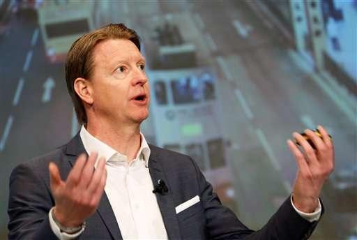 Ericsson's profits rise 49 percent, but sales down