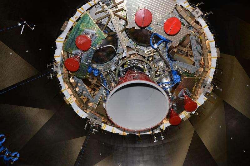 ESA image: Inside a rocket's belly