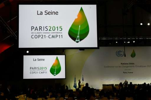 Excluding foreign travel, the near two-week COP 21 United Nations conference left a carbon footprint of 9,200 tonnes of carbon d