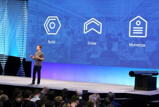 Facebook chief and co-founder Mark Zuckerberg discusses Messenger and other platforms at the leading social network's annual dev
