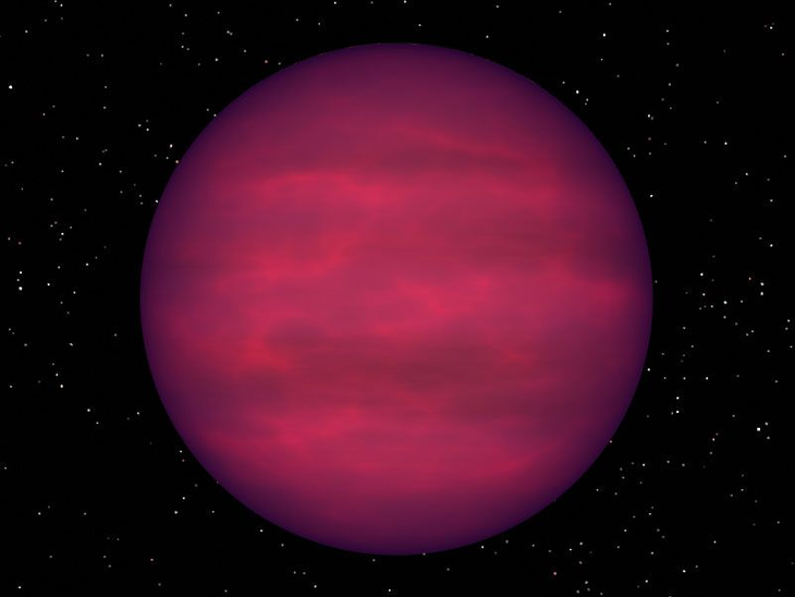 Fastest-spinning brown-dwarf star is detected by its bursts of radio waves