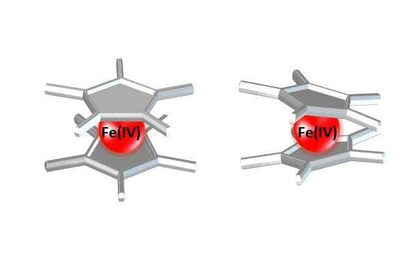 Fe(IV) decamethylferrocene