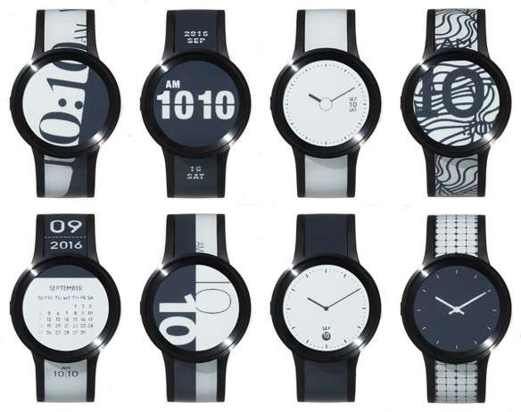 FES Watch U has new look on e-ink face, band