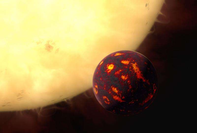 First detection of super-earth atmosphere