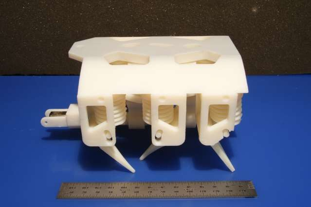 First-ever 3-D printed robots made of both solids and liquids
