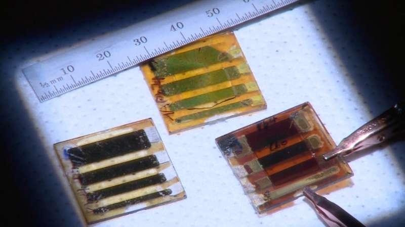 Flipping crystals improves solar-cell performance