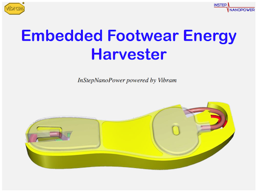 Footsteps could power mobile devices