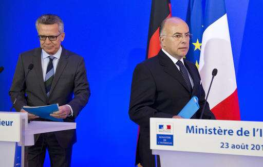 France, Germany want limits on encryption to fight terrorism