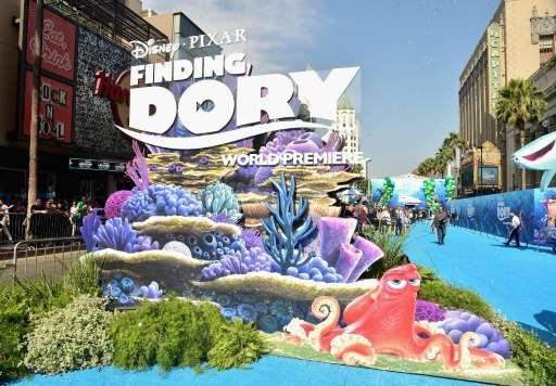 """Friday's release of Pixar's """"Finding Dory"""", an animated film about a forgetful blue tang, will likely boost demand for"""