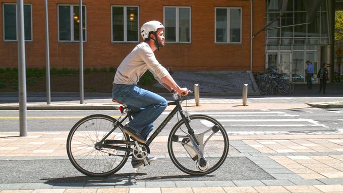 GeoOrbital shows rethink of bicycle wheel concept