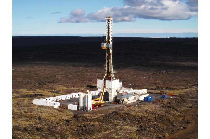 Geothermal power potential seen in Iceland drilling project
