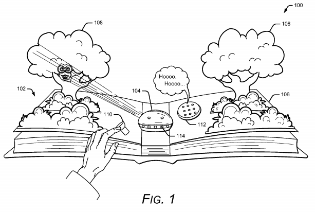 Google envisions delivery of AR elements to physical books