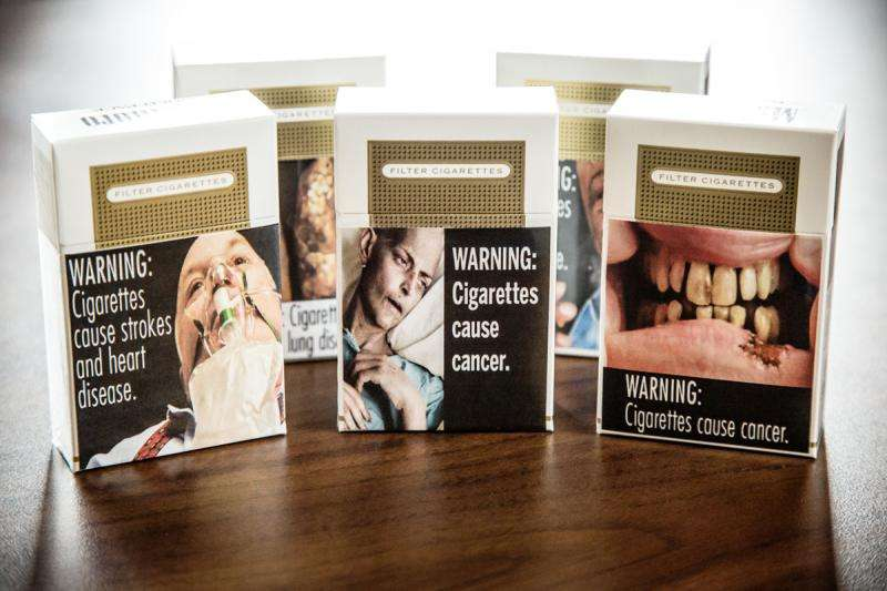 Graphic images may not scare smokers off cigarettes, says study