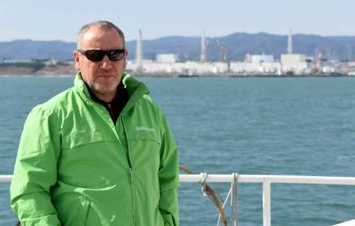 "Greenpeace nuclear expert Shaun Burnie says Fukushima is facing an ""enormous nuclear water crisis"""