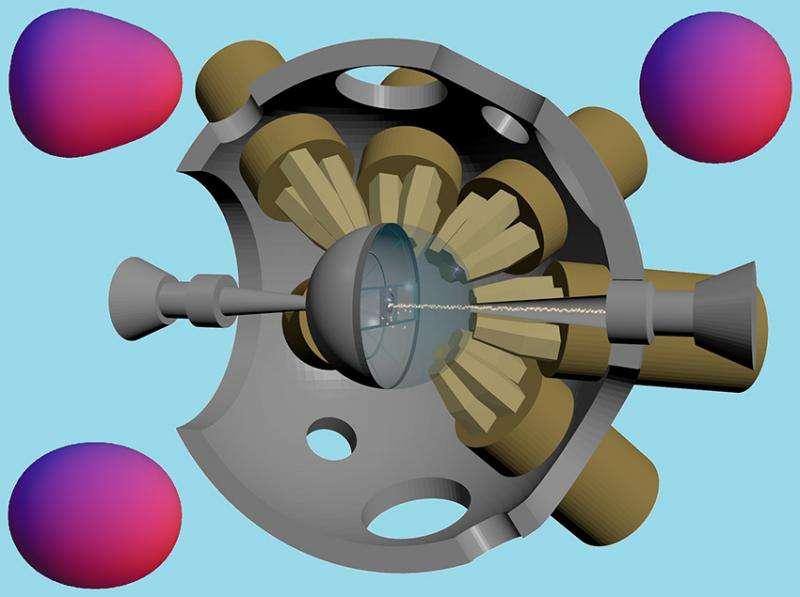 Heavy barium nuclei prefer a pear shape