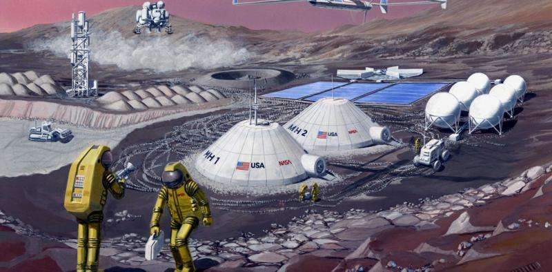 Here's how we could build a colony on an alien world