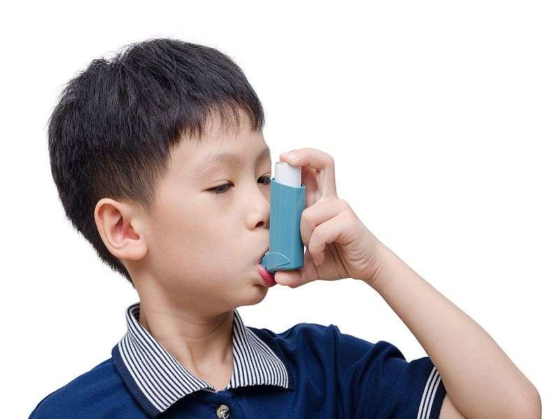 High prevalence of allergic sensitization in pediatric asthma