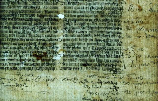 Historian uncovers secrets of the Reformation hidden in England's oldest printed bible