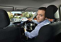 How do drivers compensate for inattention?