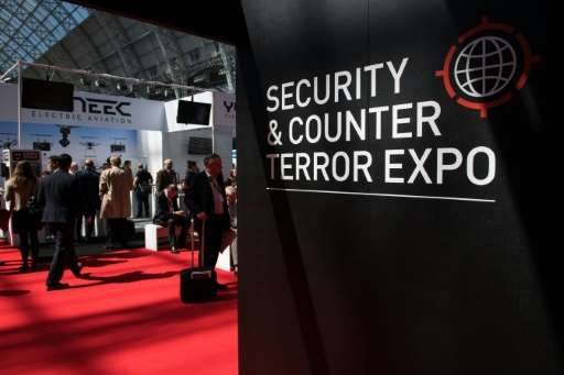 Hundreds of cutting-edge gadgets are on show at the Security and Counter Terror Expo in London