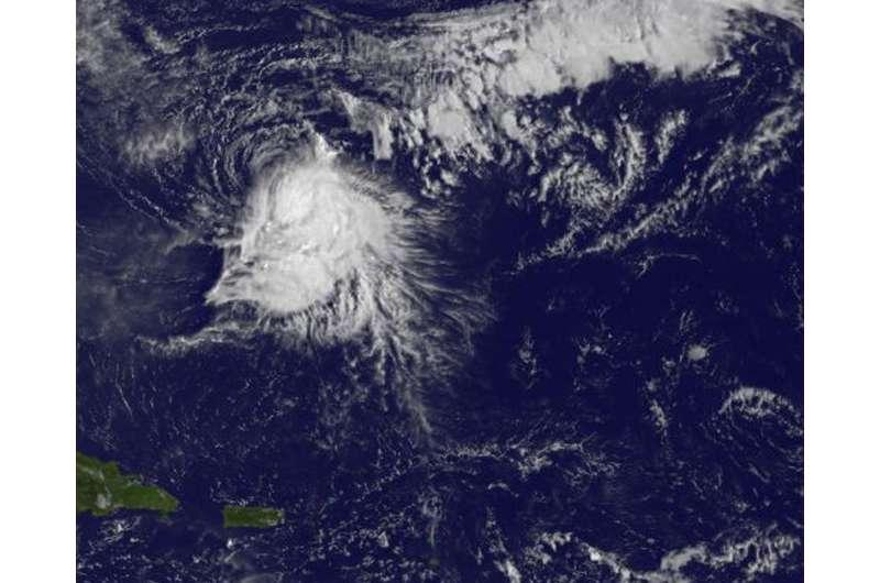 Hurricane Nicole teams up to set an Atlantic Ocean record