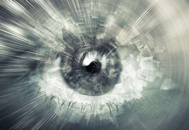 Illusion reveals that the brain fills in peripheral vision