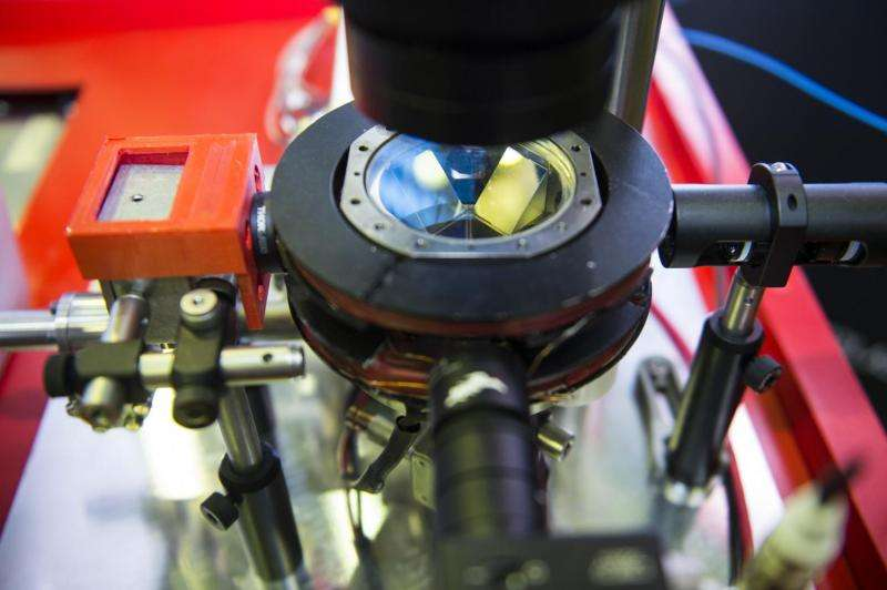 Image: Commercially available atom interferometer