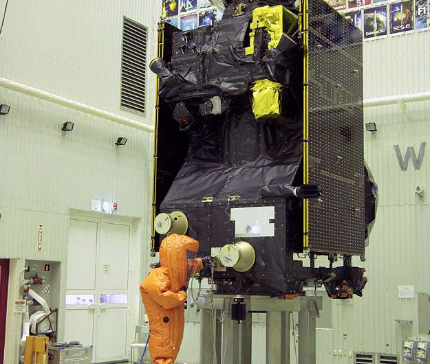 Image: ExoMars 2016 Trace Gas Orbiter fuelled for Mars