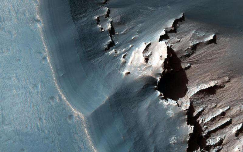 Image: Jarosite in the Noctis Labyrinthus Region of Mars