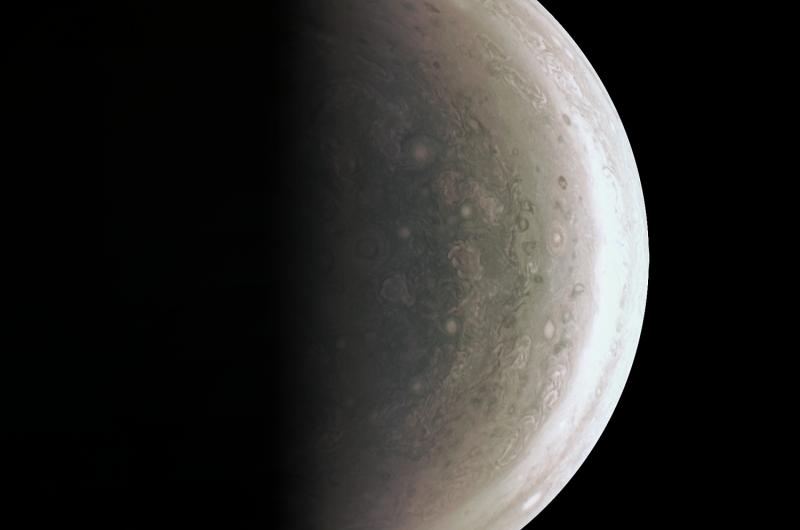 Image: Jupiter's South Polar region