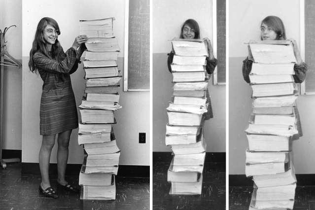 Image: Margaret Hamilton's Apollo code